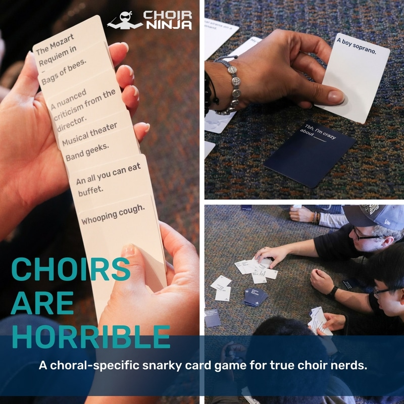 Choirs Are Horrible Picture Collage